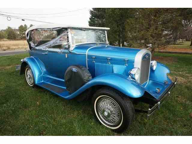 1932 Ford MODEL A REPLICA FACTORY BUILT | 973801
