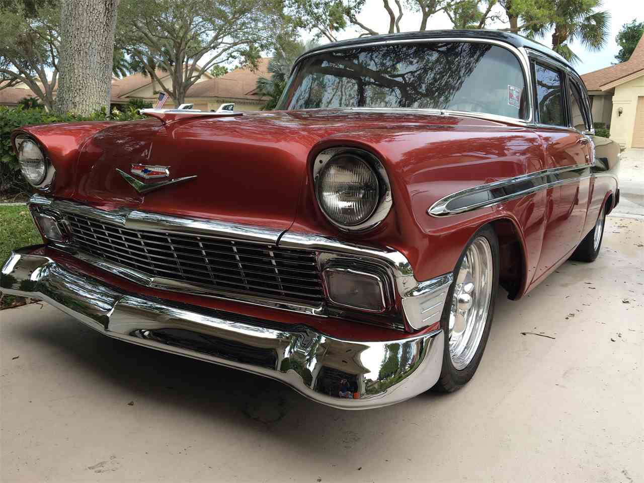 1956 chevrolet bel air for sale classic car liquidators - 1956 Chevrolet Bel Air For Sale Cc 973813