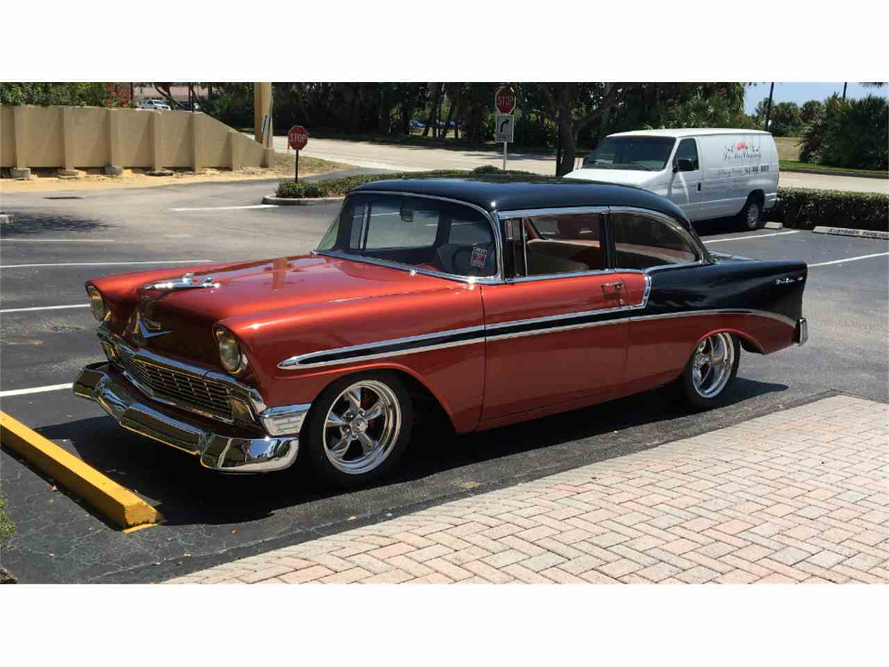 1956 chevrolet bel air for sale cc 973813. Black Bedroom Furniture Sets. Home Design Ideas