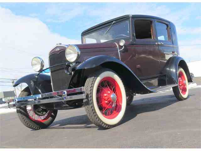 1931 Ford Model A Fordor Two Window | 970382