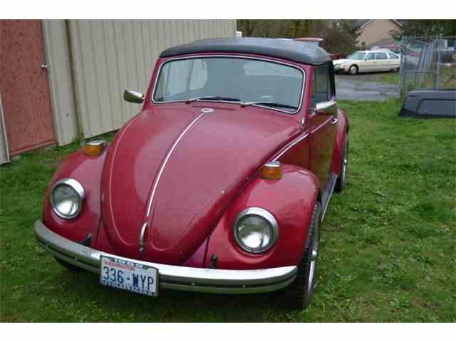 1969 Volkswagen Cabriolet Beetle   973908