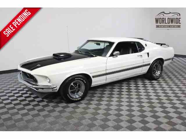1969 Ford Mustang   973994