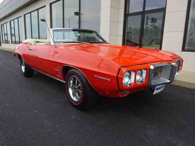 1969 Pontiac Firebird for Sale on ClassicCarscom  39 Available