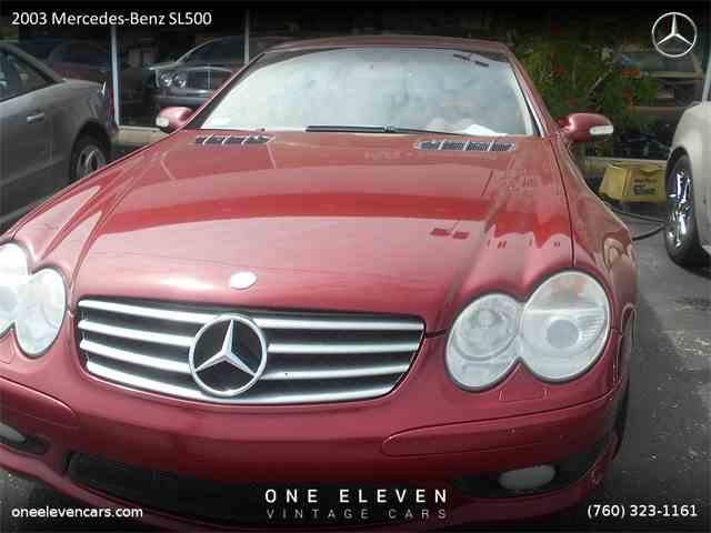 2003 Mercedes-Benz SL500 | 974309