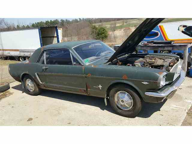 1965 Ford Mustang C-code, V8, auto, A/C | 974371
