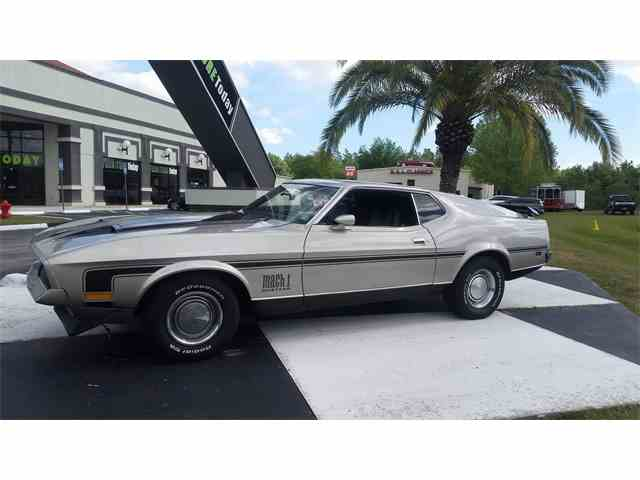 1971 Ford Mustang Mach 1   974379