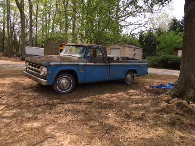 1968 Dodge D100 | 974390