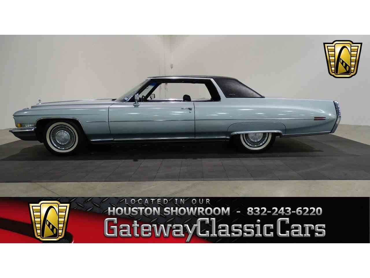 1972 Cadillac Coupe Deville For Sale Classiccars Com
