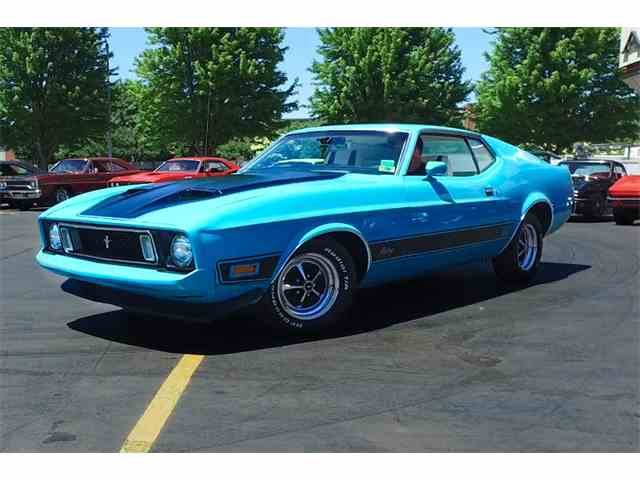 1973 Ford Mustang Mach 1 | 974653