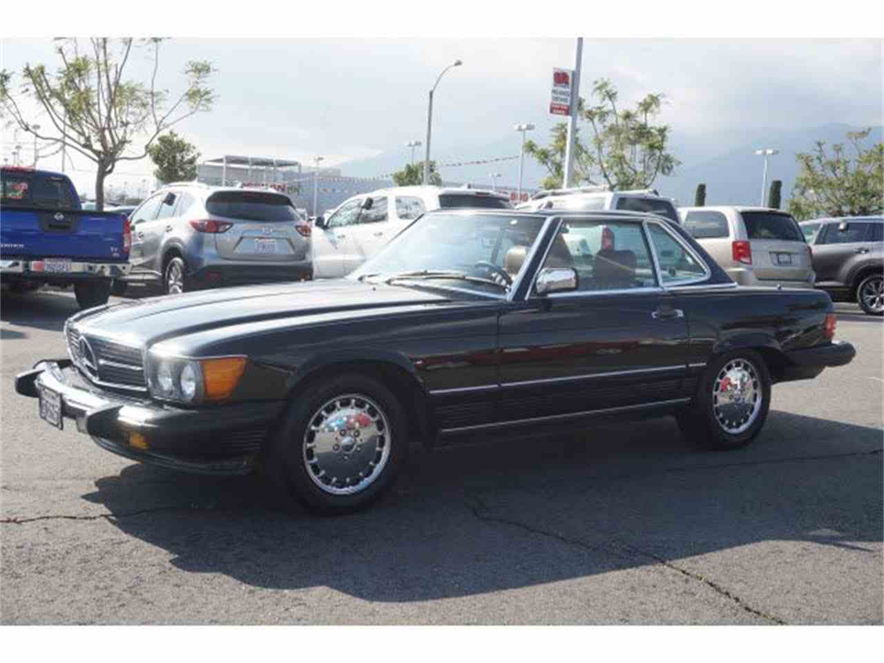 1987 mercedes benz 560sl for sale cc for Mercedes benz fontana ca
