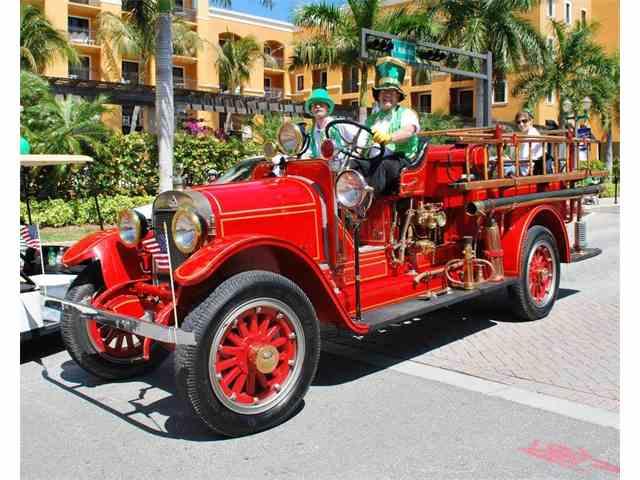1925 Stutz Model K Firetruck | 970488