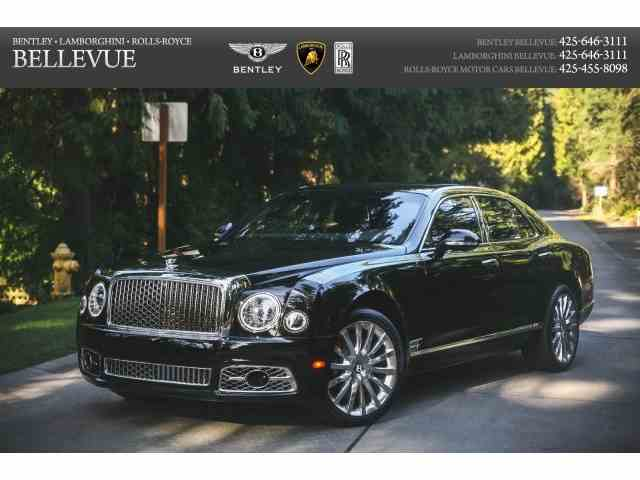 2017 Bentley Mulsanne S | 974907