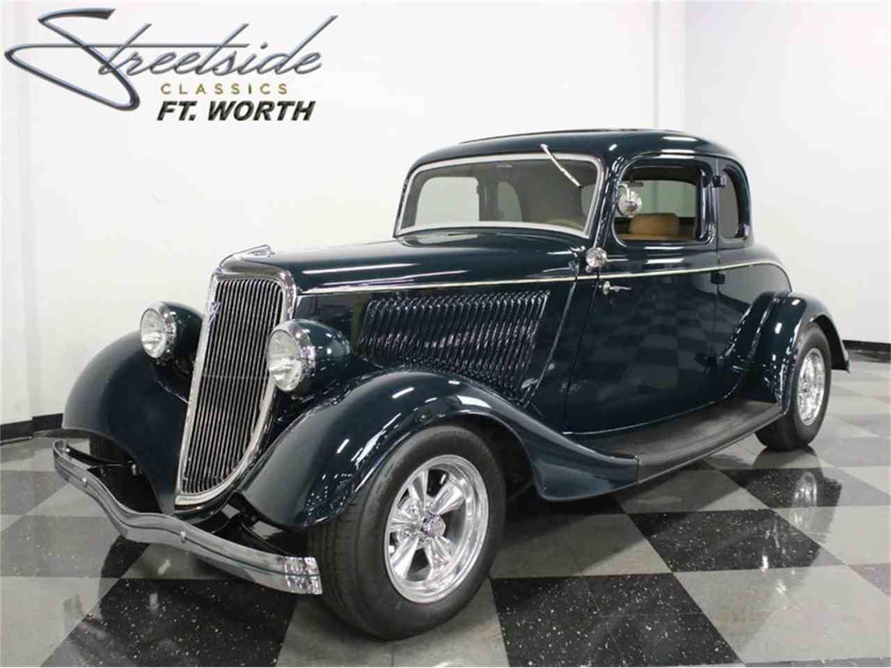 1934 ford 5 window coupe for sale cc 974992. Black Bedroom Furniture Sets. Home Design Ideas