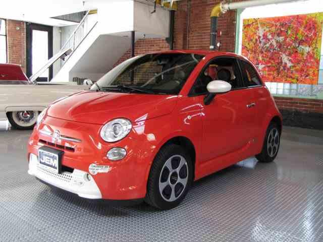 2015 Fiat 500e | 974993