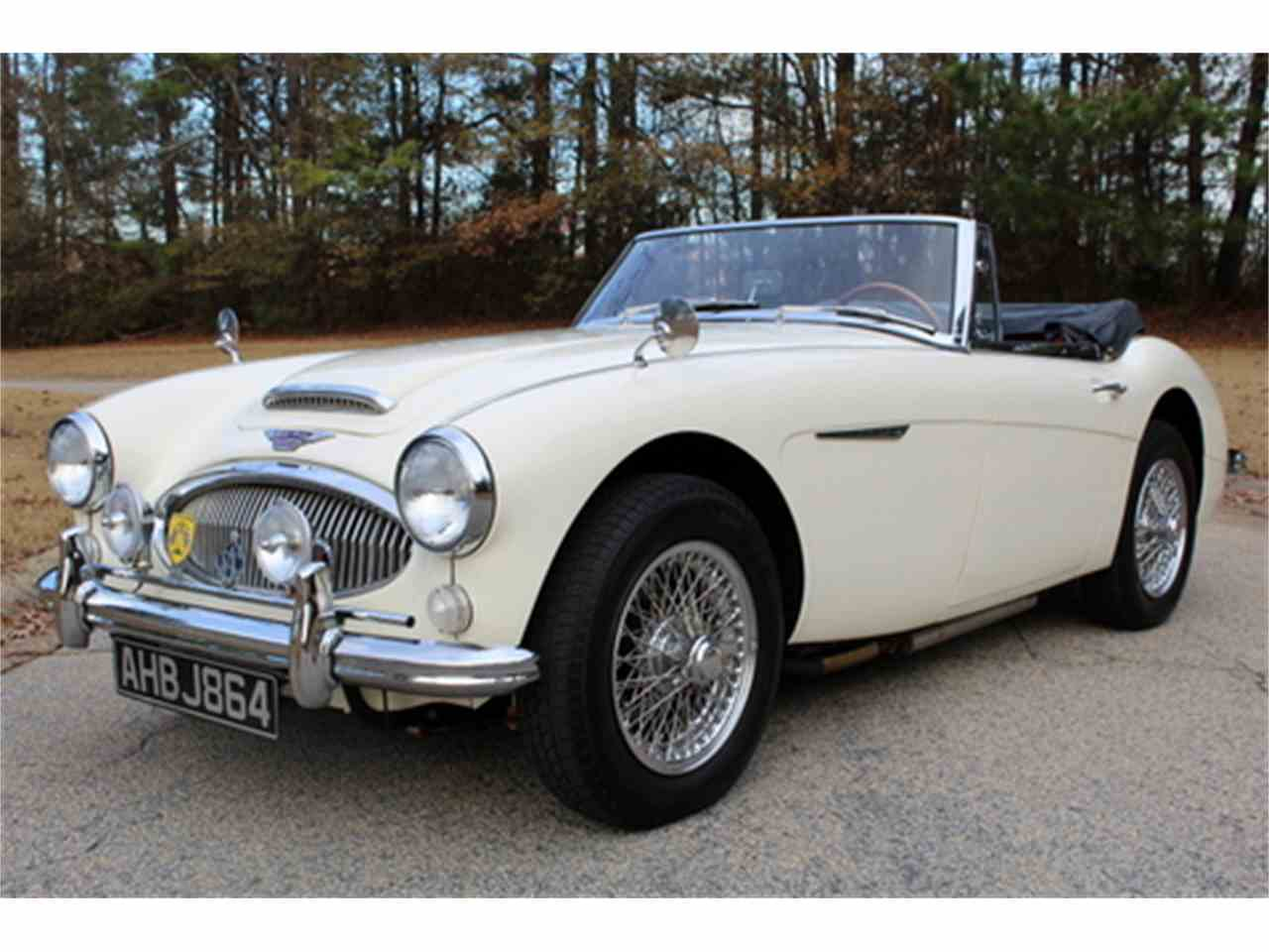 1964 austin healey 3000 mark iii for sale classiccars. Black Bedroom Furniture Sets. Home Design Ideas