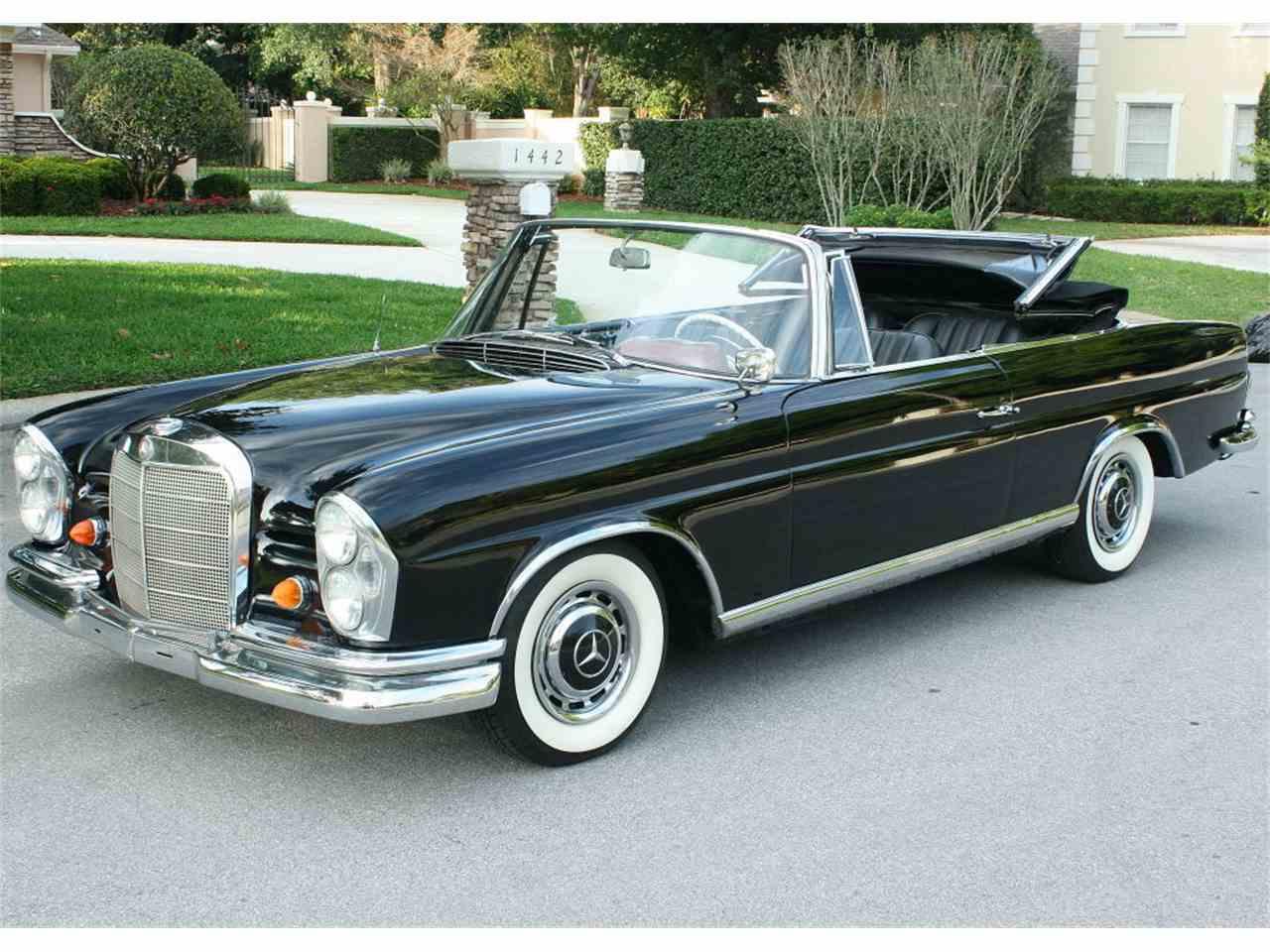 1963 Mercedes Benz 220se For Sale Cc