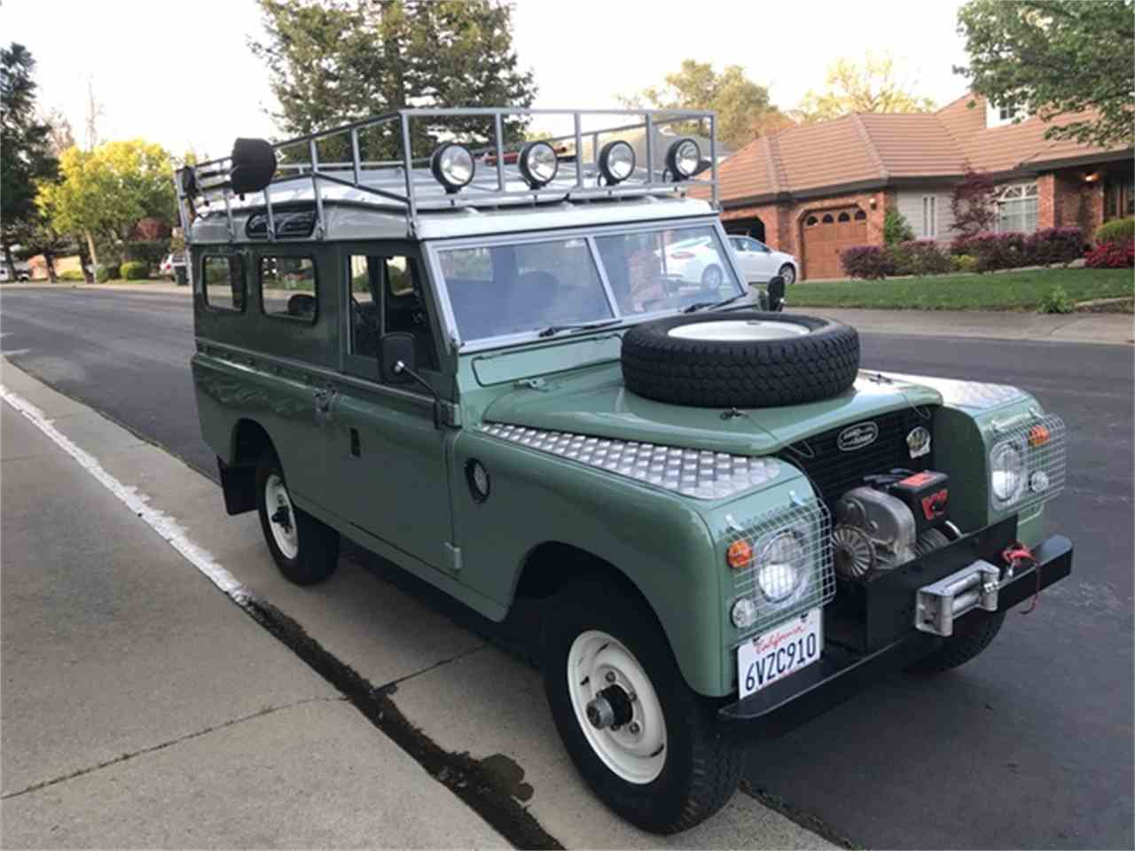 1961 land rover series iia for sale cc. Black Bedroom Furniture Sets. Home Design Ideas