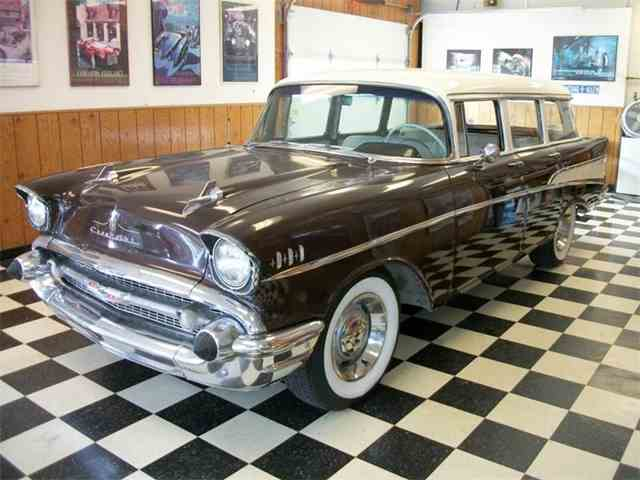 Classifieds for 1957 chevrolet bel air 260 available for 1957 chevy 4 door wagon for sale
