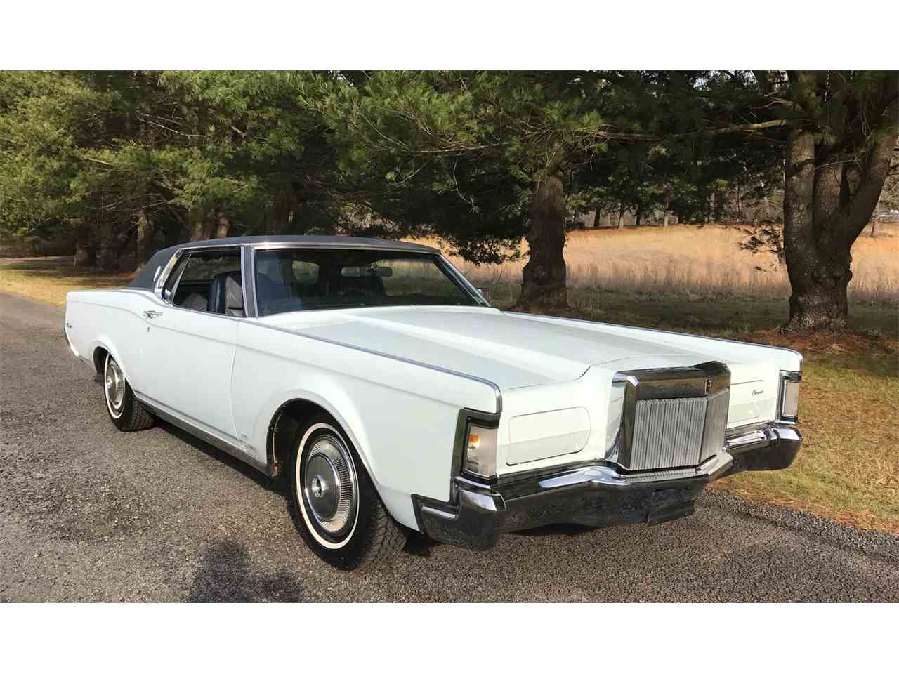 1971 lincoln continental mark iii for sale cc 970544. Black Bedroom Furniture Sets. Home Design Ideas