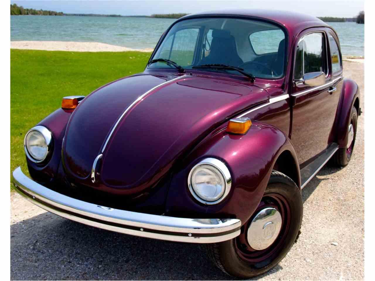 Similar vehicles 1974 volkswagen super beetle
