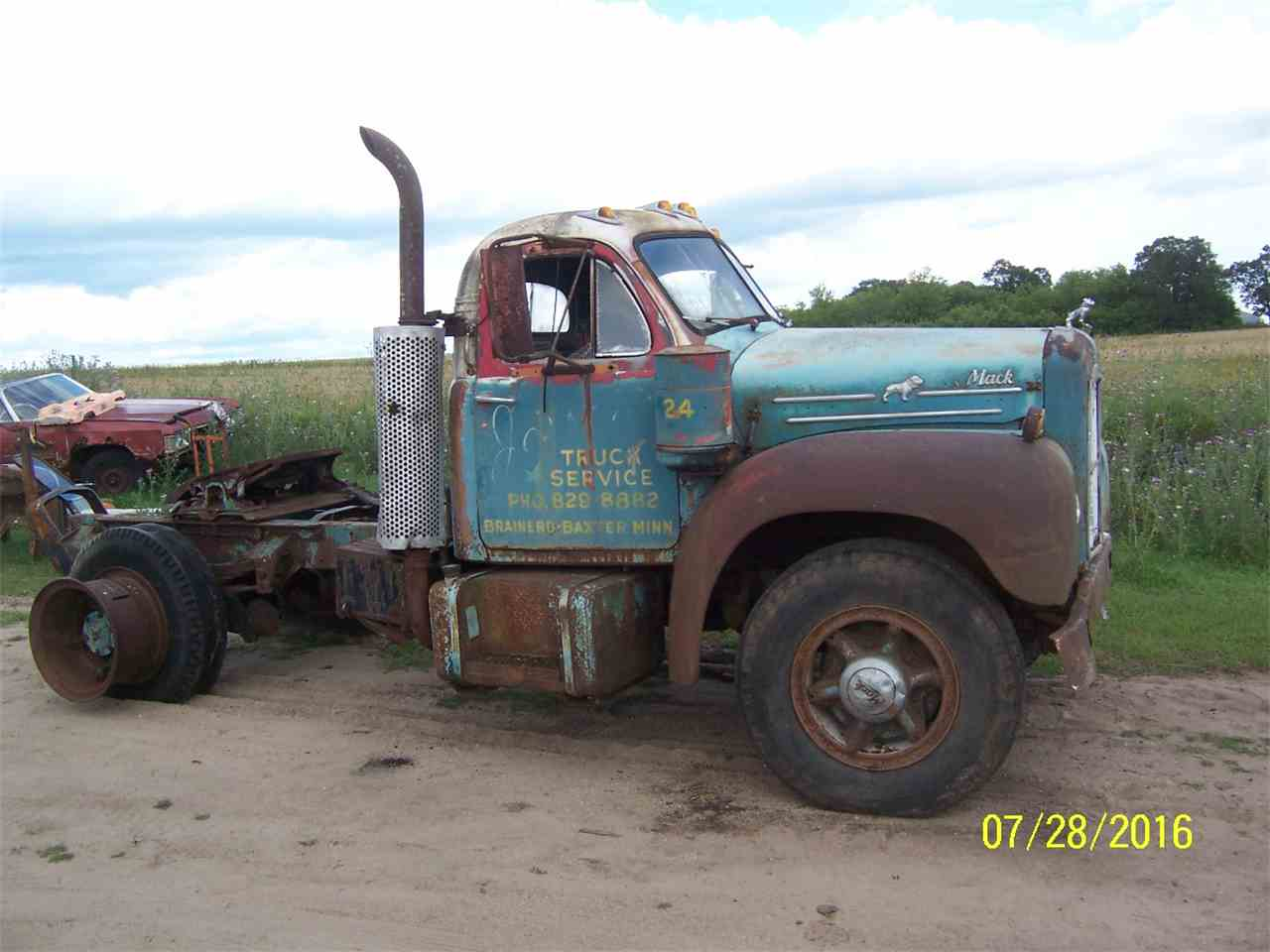 1957 mack b61 truck 975508 - Rusty Old Cars For Sale