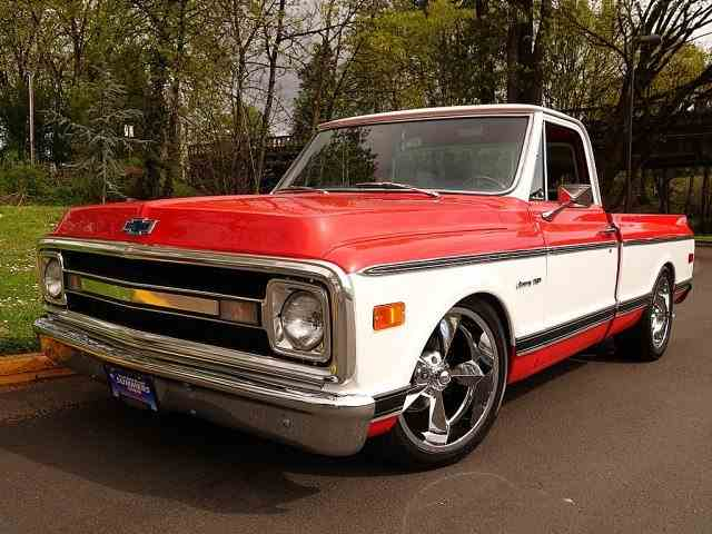 1970 Chevrolet C10 Short Bed Pickup | 975713