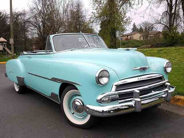 1951 Chevrolet 2 Door Deluxe Convertible | 975714