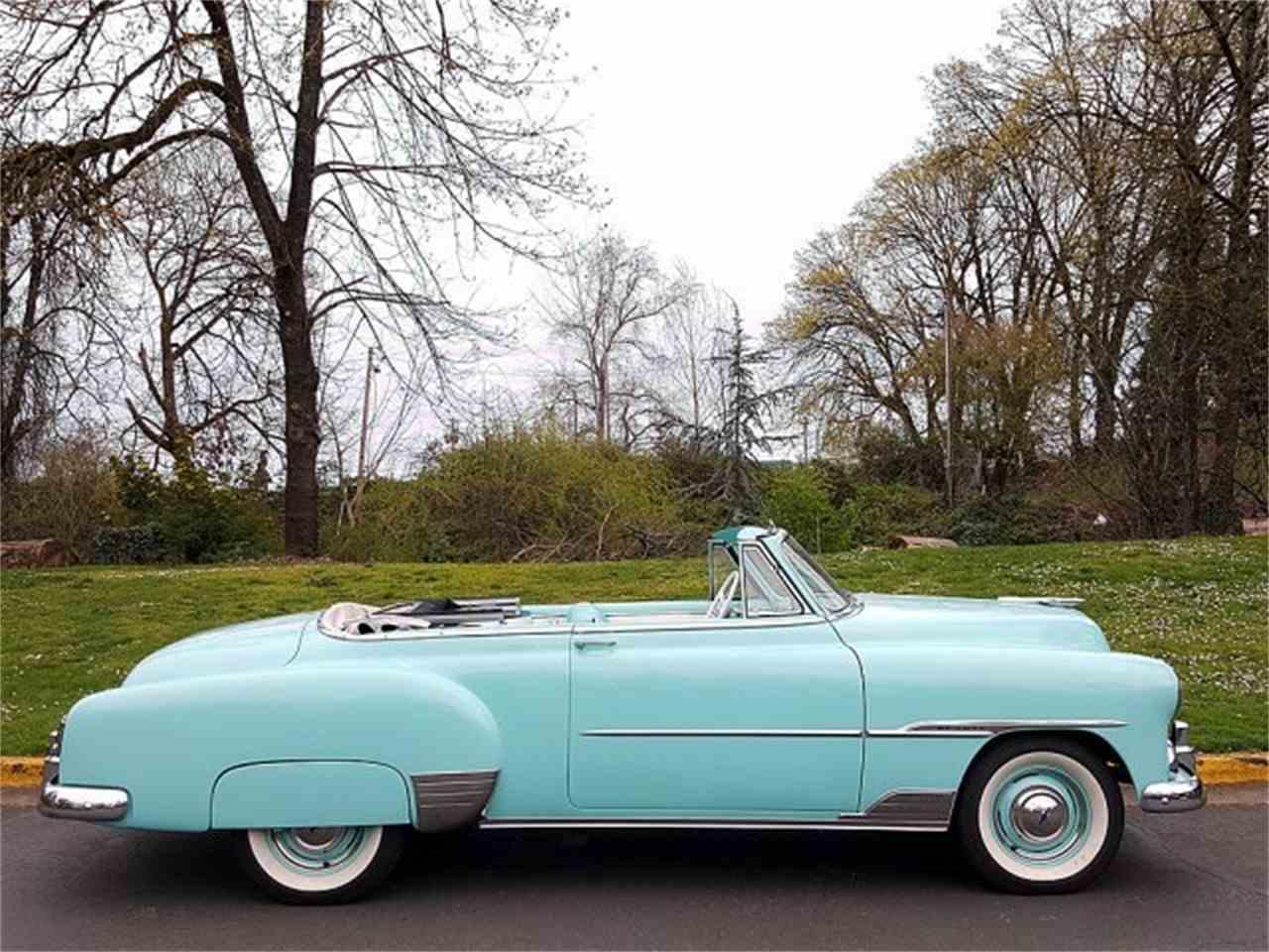 1951 chevrolet 2 door deluxe convertible for sale cc 975714. Black Bedroom Furniture Sets. Home Design Ideas