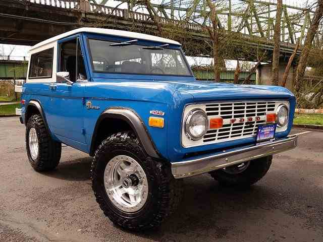 1970 Ford Bronco | 975716