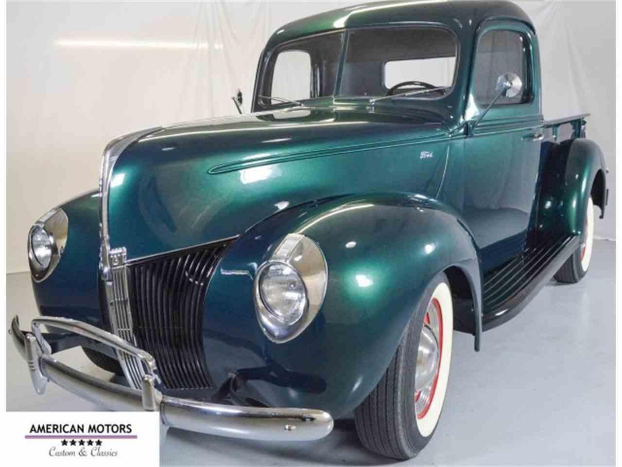 1940 ford pickup for sale cc 970581. Black Bedroom Furniture Sets. Home Design Ideas