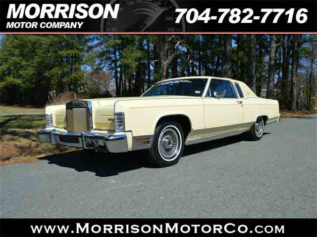 1978 Lincoln Town Car   975968