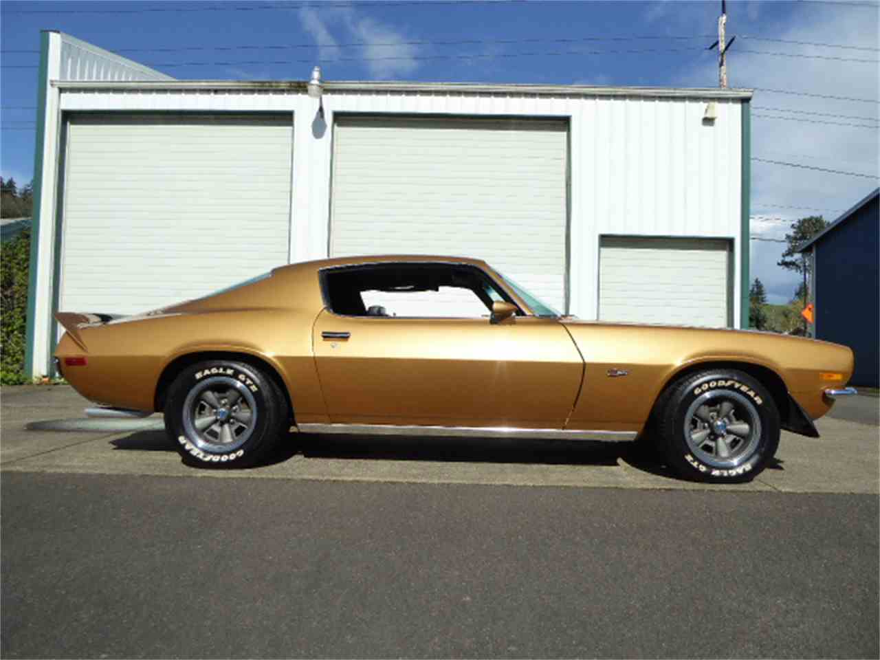 1970 chevrolet camaro rs z28 for sale cc 976000. Black Bedroom Furniture Sets. Home Design Ideas