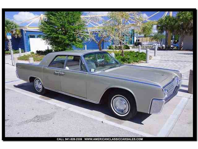 1962 Lincoln Continental   976021