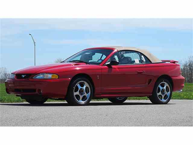 1994 Ford Mustang Cobra Indianapolis 500 Pace Car Convertible | 976055