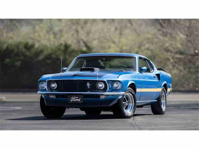 1969 Ford Mustang Mach 1 | 976188