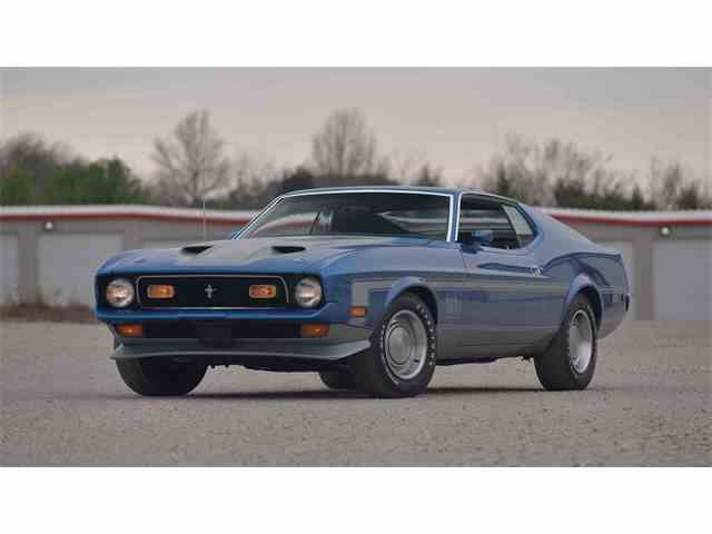 1971 Ford Mustang Mach 1 | 976266