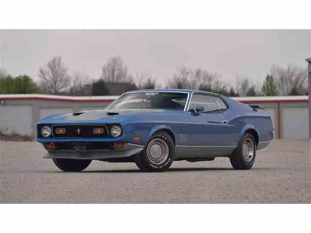 1971 Ford Mustang Mach 1 | 976268