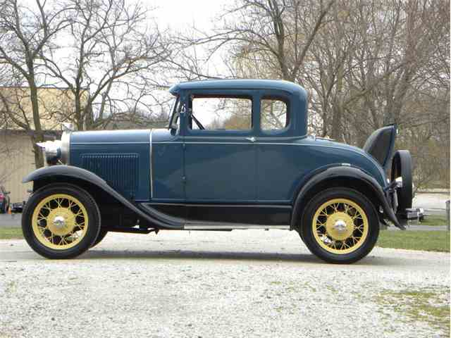1930 Ford Model A Rumble Seat Coupe | 970629