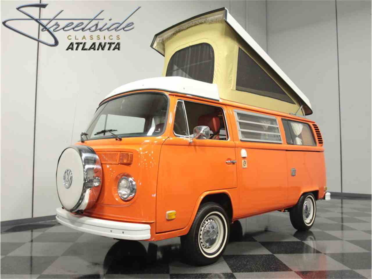 1975 Volkswagen Bus Westfalia Camper For Sale