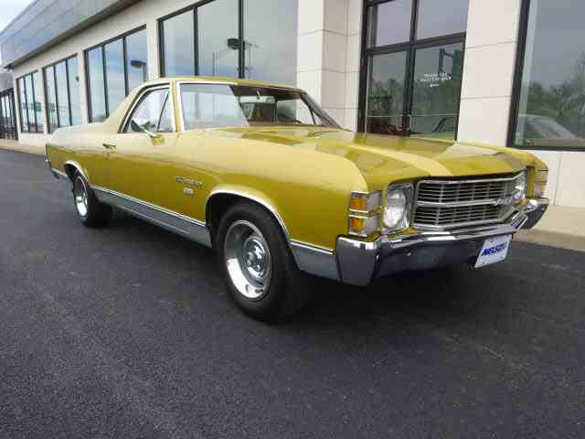 1971 Chevrolet El Camino for Sale on ClassicCarscom  17 Available