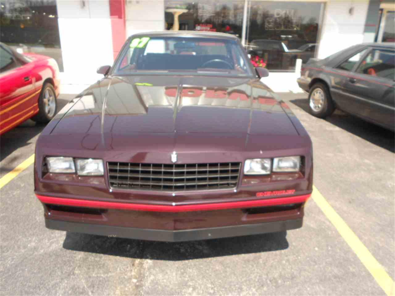 1987 Chevrolet Monte Carlo SS Aerocoupe for Sale | ClassicCars.com ...