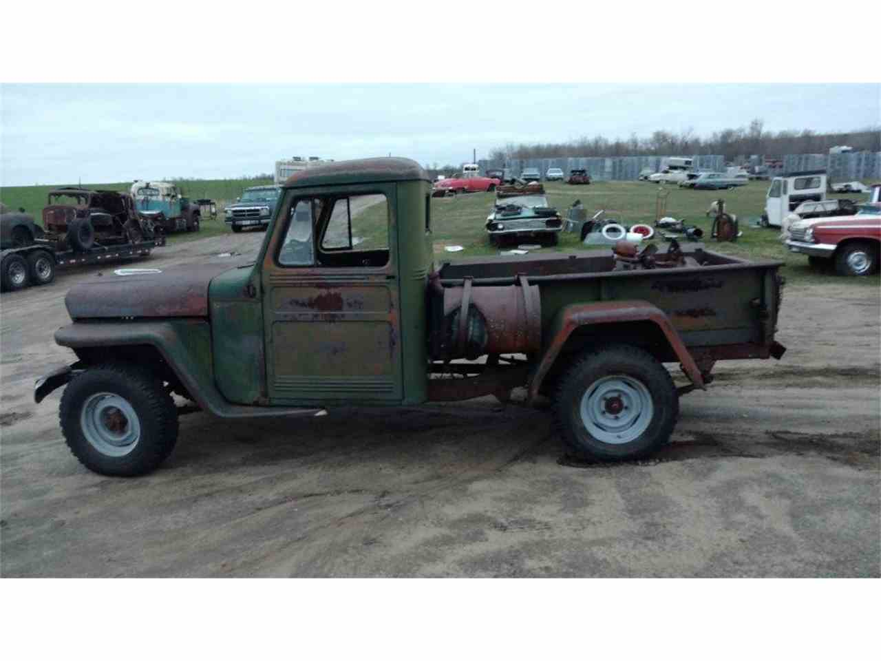 1948 willys pickup 976734 - Rusty Old Cars For Sale