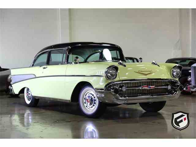 1957 Chevrolet Bel Air 2 dr Post | 976887