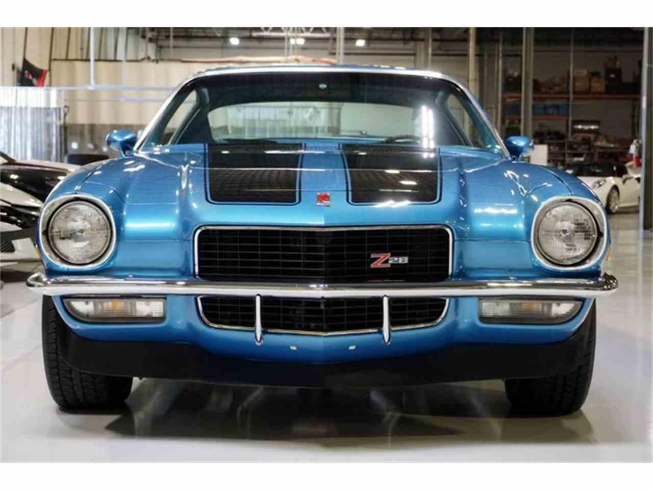 1970 chevrolet camaro z28 for sale cc 976975. Black Bedroom Furniture Sets. Home Design Ideas