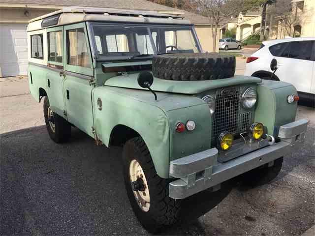 1968 Land Rover Series IIA | 977013