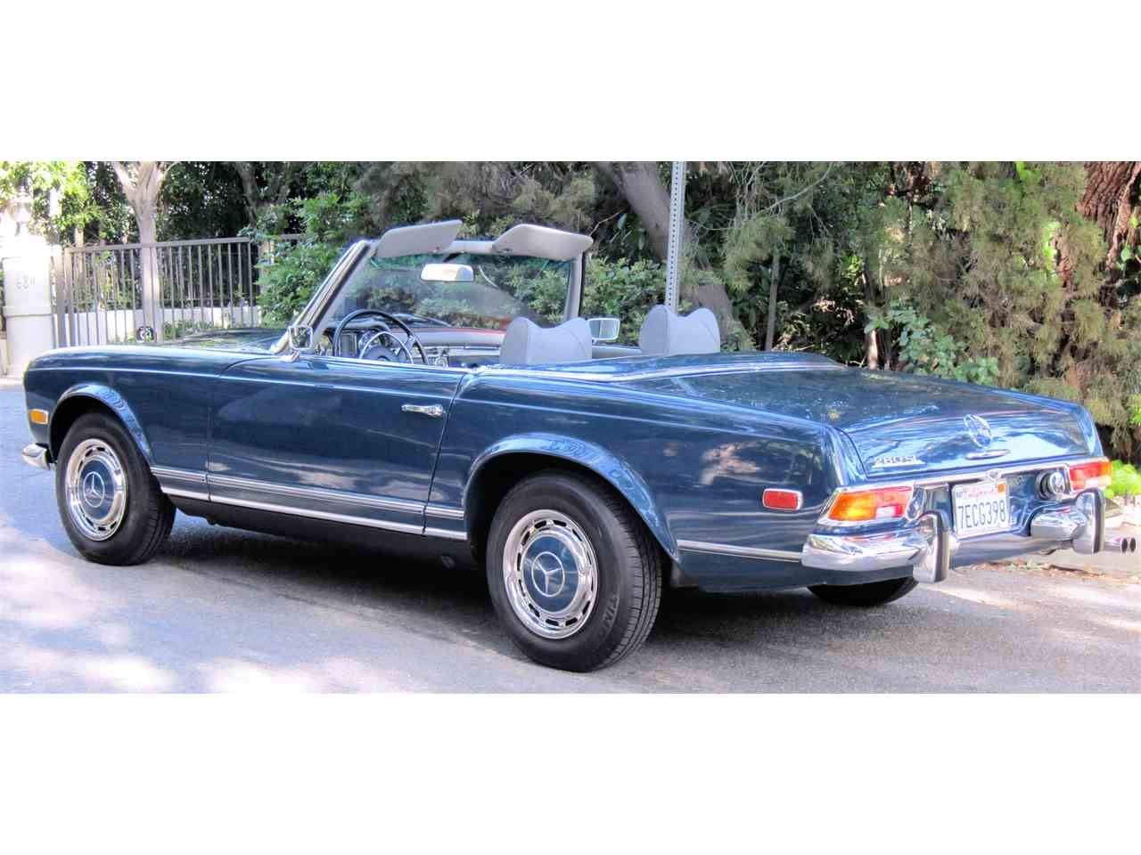 1971 mercedes benz 280sl for sale cc for Mercedes benz for sale los angeles