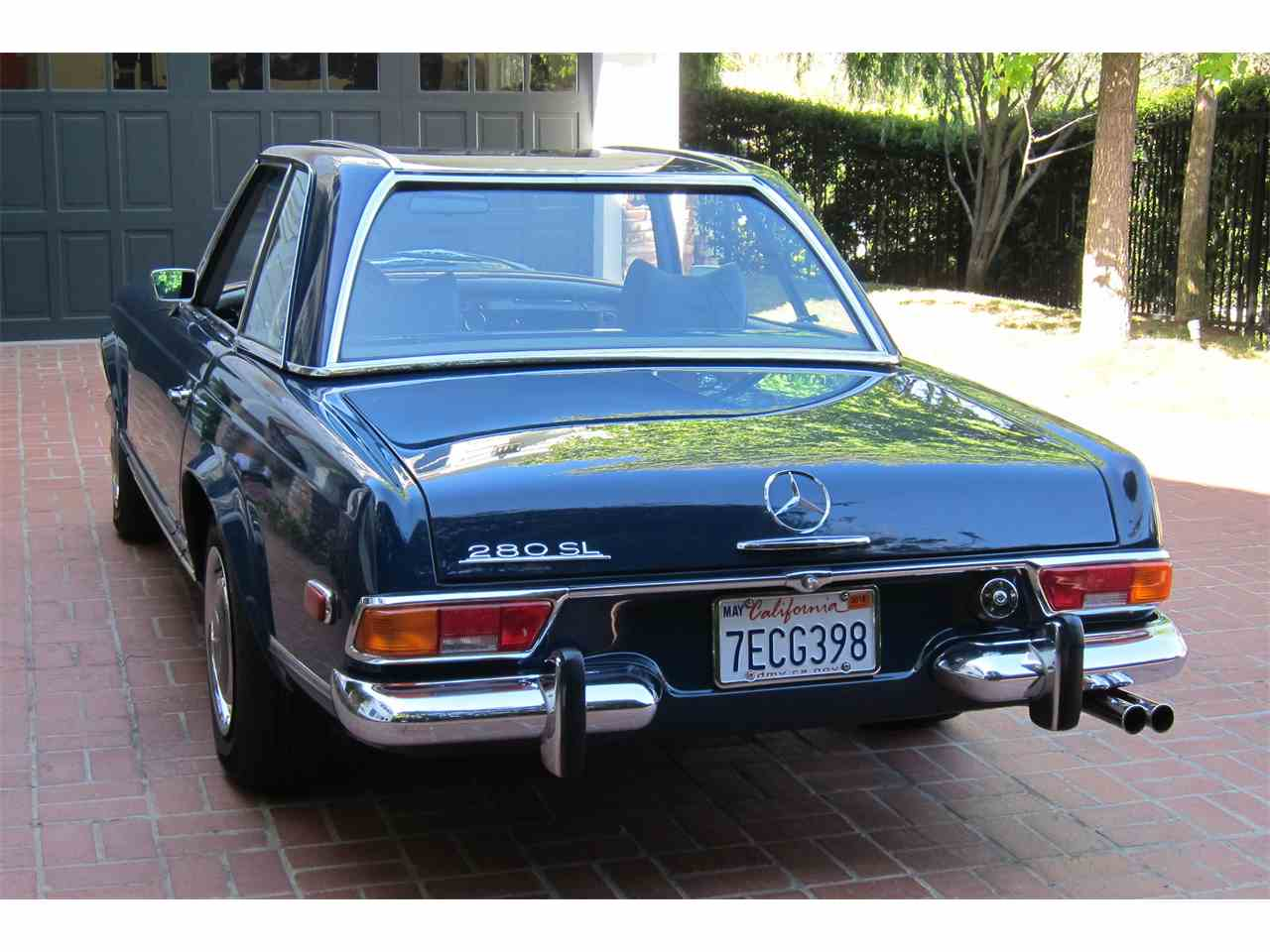 1971 mercedes benz 280sl for sale cc for Mercedes benz 280sl for sale