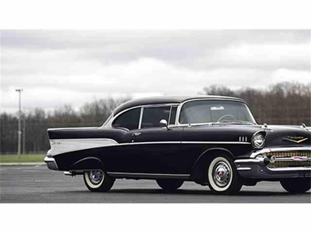 1957 Chevrolet Bel Air Restomod Sport Coupe   977077