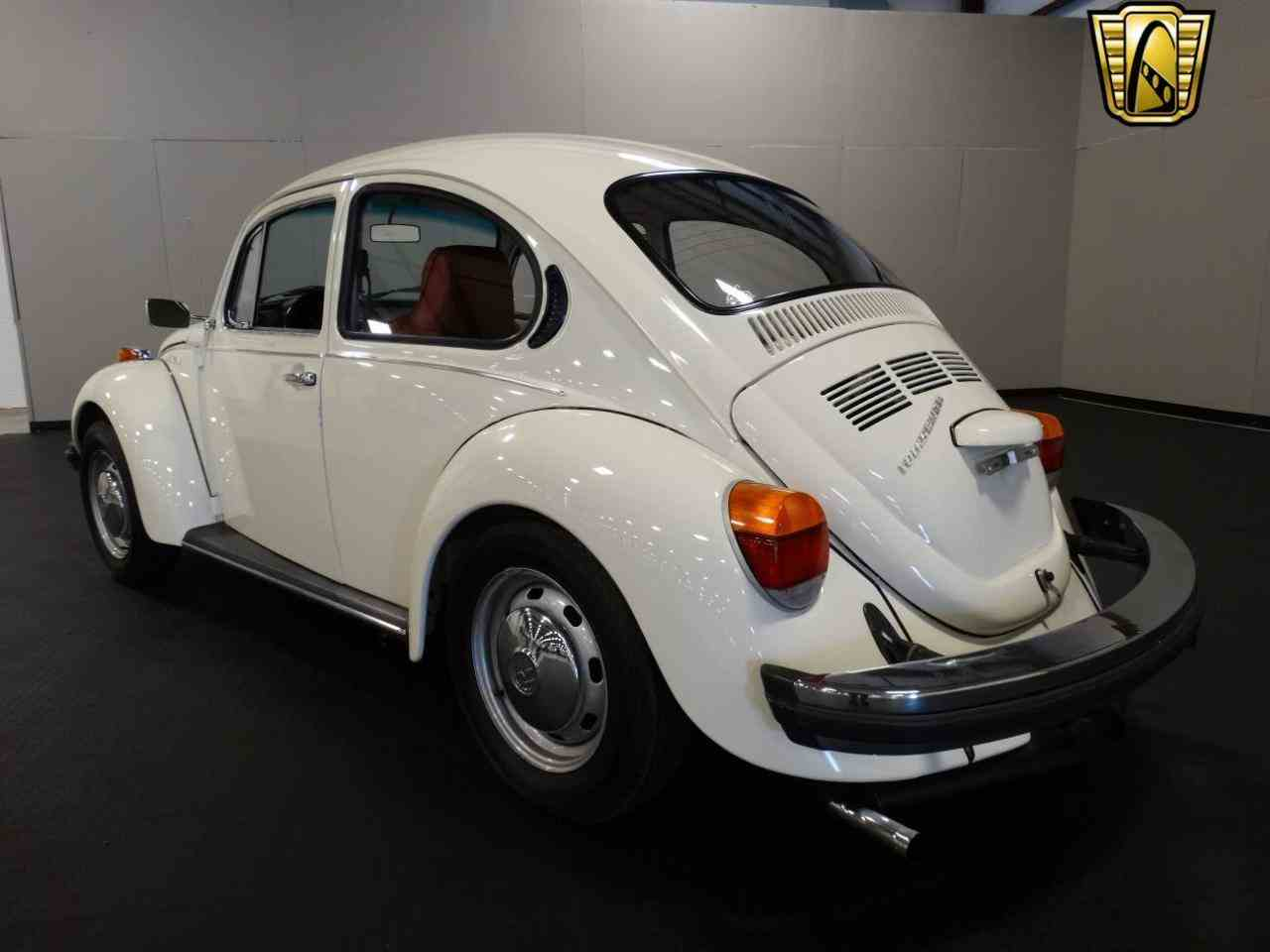 1974 volkswagen beetle for sale cc 977097. Black Bedroom Furniture Sets. Home Design Ideas