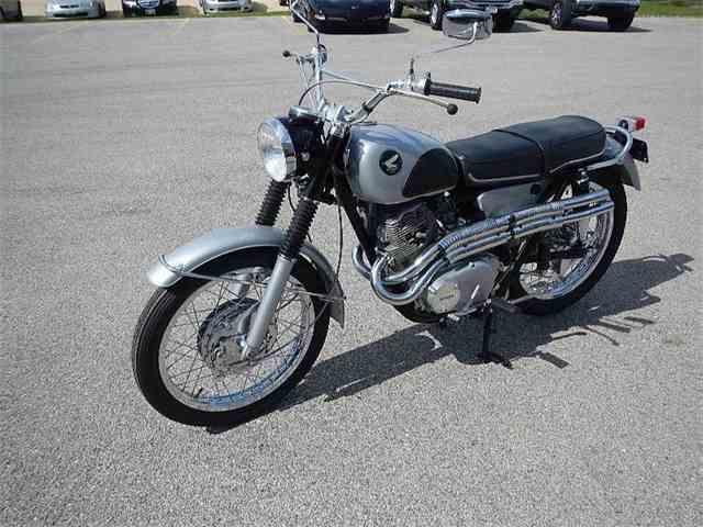 1967 Honda Scrambler 305/CL77 | 977151